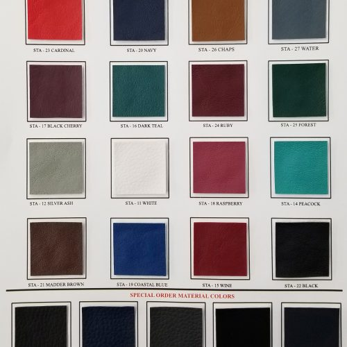 Table Color Chart
